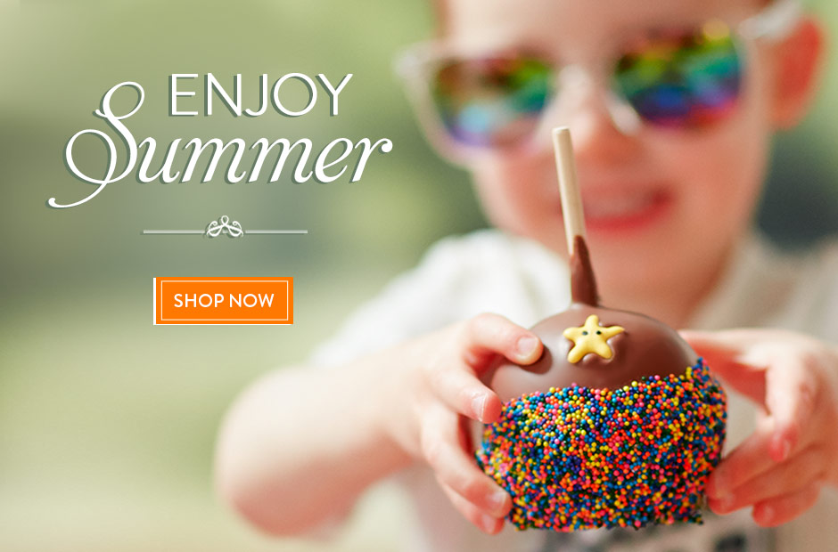 Enjoy Summer with Mrs Prindables Gourmet Caramel Apples and Summertime Gifts