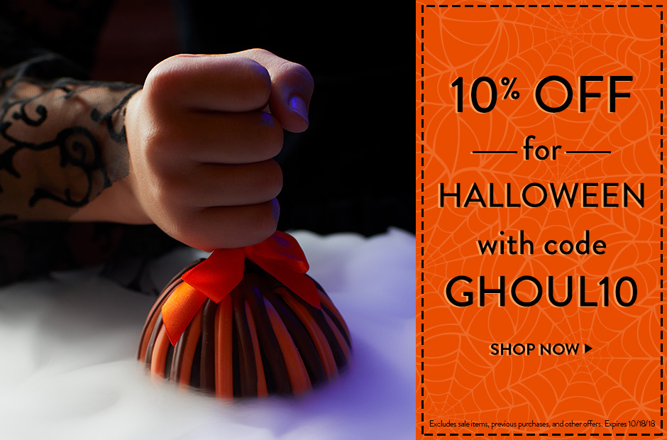 Save 10pct with code GHOUL10