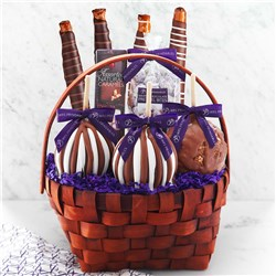 Classic Caramel Apple Gift Basket