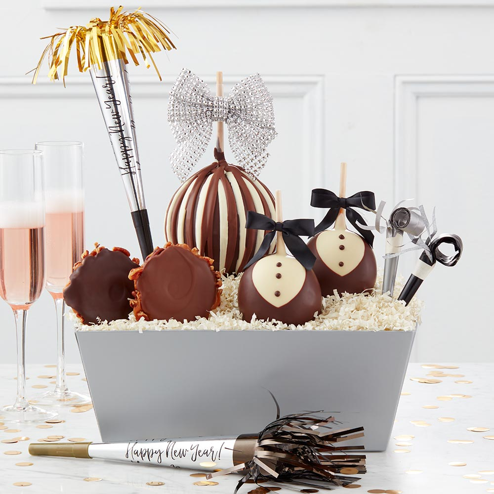 Caramel Apple Gift Basket: Gourmet Caramel Apples, Order Online Today