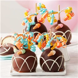 Birthday Bash Petite Caramel Apple 4-Pack