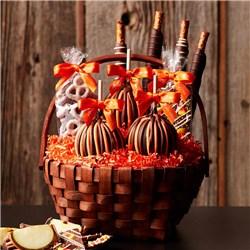Classic Fall Caramel Apple Gift Basket
