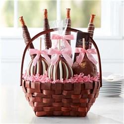 Classic Spring Caramel Apple Gift Basket