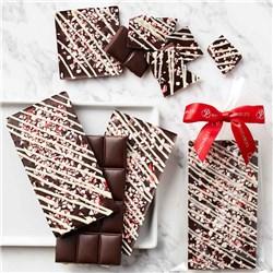 Dark Chocolate Peppermint Bark, 5pc