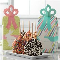 Easter Bow Caramel Apple Gift Set