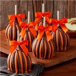 Fall Triple Chocolate Petite Caramel Apple 12-Count Case