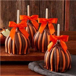 Fall Triple Chocolate Caramel Apple 4-Pack