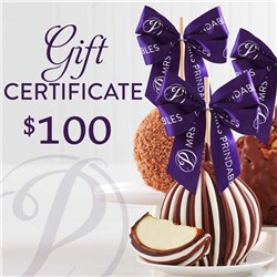 Mrs Prindables $100 Gift Certificate