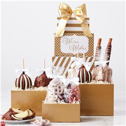Gold Tower Caramel Apples and Confections Gift Set