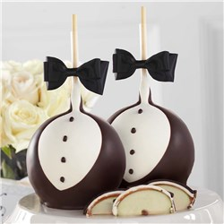 Groom Jumbo Caramel Apple Set