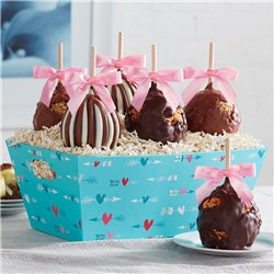 hearts-and-arrows-caramel-apple-tray
