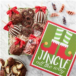Jingle All the Way Caramel Apple Gift Set