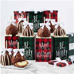 Plaid Holidays Caramel Apple Gift Set