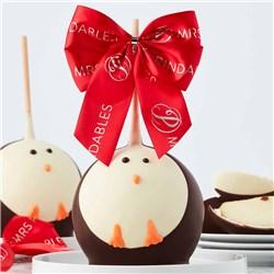 Arctic Penguin Jumbo Caramel Apple