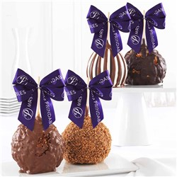 Jumbo Caramel Apple 4-Pack Gift