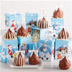Wintertime Fun Caramel Apple Gift Set