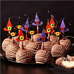 Witch Hats Petite Caramel Apple Gift