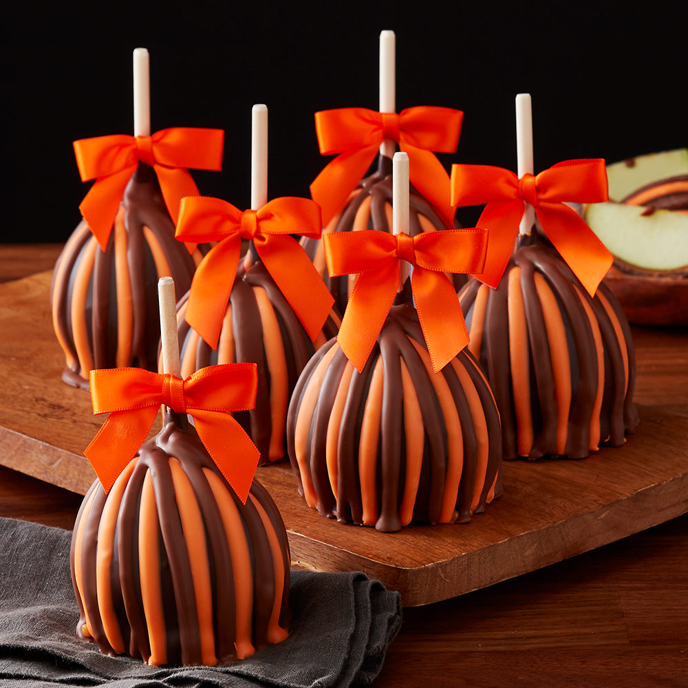 halloween-triple-chocolate-petite-caramel-apples-12-count-case-1932709