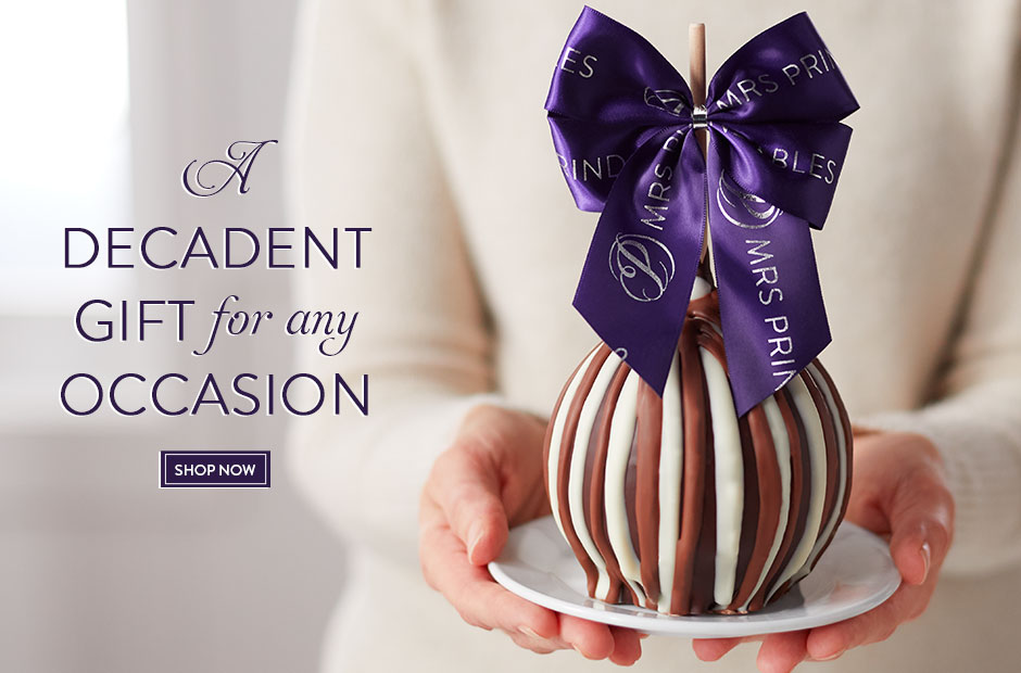 A Decadent Gift for any Occasion: Mrs Prindables Gourmet Jumbo Caramel Apple